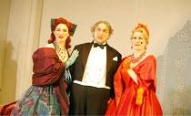 LA CENERENTOLA   (CINDERELLA)   by Rossini   ,conductor: Evelino Pido   set design: Christian Fenouillat   costume design: Agostino Cavalca   directors: Moshe Leiser & Patrice Caurier <br>,l-r: Elena...