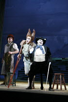 THE ADVENTURES OF PINOCCHIO   by Jonathan Dove & Alasdair Middleton   after Carlo Collodi   ,conductor: David Parry   design: Francis O^Connor   director: Martin Duncan <br>,centre, l-r: James Laing (...