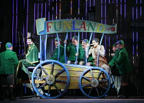 THE ADVENTURES OF PINOCCHIO   by Jonathan Dove & Alasdair Middleton   after Carlo Collodi   ,conductor: David Parry   design: Francis O^Connor   director: Martin Duncan <br>,Pinocchio plays truant   l...