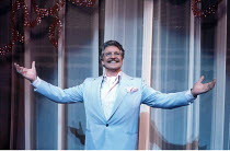 LA CAGE AUX FOLLES   music: Jerry Herman   book: Harvey Fierstein   based on the play by Jean Poiret   director: Arthur Laurents <br>,Denis Quilley (Georges),London Palladium, London W1...