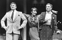 LA CAGE AUX FOLLES   music: Jerry Herman   book: Harvey Fierstein   based on the play by Jean Poiret   director: Arthur Laurents <br>,l-r: Denis Quilley (Georges), Phyllida Law (Jacqueline), George He...