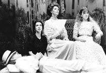 THE SEAGULL   by Anton Chekhov   in a new translation by Charles Sturridge & Tania Alexander   ,set design: Eileen Diss   costumes: Jane Robinson   director: Charles Sturridge <br>,l-r: Phoebe Nicholl...