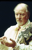 BINGO  by Edward Bond  design: Hayden Griffin  directors: Jane Howell & John Dove <br>,~John Gielgud (Shakespeare)~Royal Court Theatre, London SW1  14/08/1974   ~(c) Donald Cooper/Photostage   photos@...