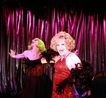 LA CAGE AUX FOLLES   music: Jerry Herman   book: Harvey Fierstein based on the play by Jean Poiret   director: Terry Johnson <br>,Douglas Hodge (Albin),Menier Chocolate Factory / London SE1...