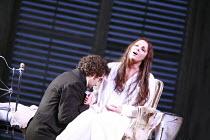 LA TRAVIATA   by Verdi   conductor: Maurizio Benini   design: Bob Crowley   lighting: Jean Kalman   director: Richard Eyre <br>,Act III: Anna Netrebko (Violetta Valery),  Jonas Kaufmann (Alfredo Germo...