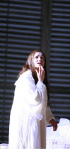 LA TRAVIATA   by Verdi   conductor: Maurizio Benini   ,design: Bob Crowley   lighting: Jean Kalman   director: Richard Eyre <br>,Act III: Anna Netrebko (Violetta Val�ry),The Royal Opera / Covent Garde...