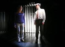 LAND OF THE DEAD   by Neil LaBute   director: Patricia Benecke <br>,Ruth Gemmell (Woman), John Kirk (Man),Bush Theatre, London W12     17/01/2008                 ,