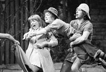 JOKING APART   by Alan Ayckbourn   set design: Alan Tagg   costumes: Lindy Hemming   director: Alan Ayckbourn <br>,l-r: Alison Steadman (Anthea), Jennifer Piercey (Olive), John Price (Brian),Globe The...