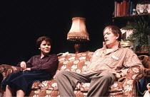 A CHORUS OF DISAPPROVAL   by Alan Ayckbourn   design (set): Alan Tagg   (costumes): Lindy Hemming   director: Alan Ayckbourn <br>,Imelda Staunton (Hannah Llewellyn), Michael Gambon (Dafydd Ap Llewelly...