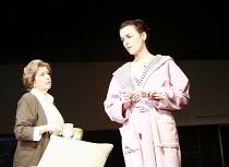 HAPPY NOW?   by Lucinda Coxon   design: Jonathan Fensom   director: Thea Sharrock <br>,l-r: Anne Reid (June), Olivia Williams (Kitty),Cottesloe Theatre / National Theatre (NT), London SE1    24/01/200...