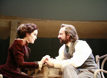 UNCLE VANYA   by Anton Chekhov   translated by Stephen Mulrine   design: Alison Chitty   lighting: Peter Mumford   director: Peter Hall <br>,Michelle Dockery (Yelena), Neil Pearson (Astrov),English To...