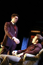 THE COLLECTION   by Harold Pinter   director: Jamie Lloyd <br>,l-r: Richard Coyle (James), Charlie Cox (Bill)  ,Comedy Theatre / London SW1                       29/01/2008     ,