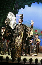 THE MIKADO   or   The Town of Titipu   ,music: Arthur Sullivan   lyrics: W S Gilbert   conductor: Martin Handley   director: Peter Mulloy <br>,Alistair McGowan (The Mikado of Japan),Carl Rosa Opera pr...