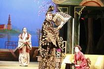 THE MIKADO   or   The Town of Titipu   music: Arthur Sullivan   lyrics: W S Gilbert   conductor: Martin Handley   director: Peter Mulloy <br>,l-r: Steven Page (Pish-Tush), Alistair McGowan (The Mikado...
