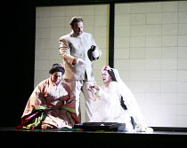MADAM BUTTERFLY   by Puccini   conductor: David Parry   set design: Michael Levine   costumes: Han Feng   lighting: Peter Mumford   associate/revival director & choreographer: Carolyn Choa   ,director...