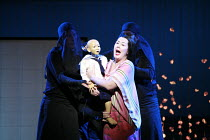 MADAM BUTTERFLY   by Puccini   conductor: David Parry   set design: Michael Levine   costumes: Han Feng   lighting: Peter Mumford   associate/revival director & choreographer: Carolyn Choa   original...
