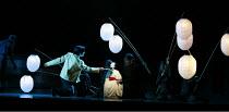 MADAM BUTTERFLY   by Puccini   conductor: David Parry   set design: Michael Levine   costumes: Han Feng   lighting: Peter Mumford   ,associate/revival director & choreographer: Carolyn Choa   original...