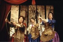 PLAYHOUSE CREATURES   by April De Angelis   director: Sue Parrish <br>,l-r: Frances Cuka (Mary Betterton), Nicola Grier (Elizabeth Farley), Geraldine Fitzgerald (Rebecca Marshall)   ,Lyric Hammersmith...