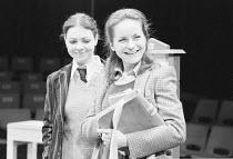 SUBURBAN_STRAINS   by Alan Ayckbourn & Paul Todd   music director: Paul Todd   director: Alan Ayckbourn ,l-r: Tessa Peake-Jones, Lavinia Bertram (Caroline),Stephen Joseph Theatre, Scarborough producti...