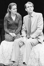 SUBURBAN_STRAINS   by Alan Ayckbourn & Paul Todd   ,music director: Paul Todd   director: Alan Ayckbourn ,Lavinia Bertram (Caroline), Robin Herford (Matthew),Stephen Joseph Theatre, Scarborough produc...