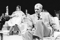 SEASON'S GREETINGS   written & directed by Alan Ayckbourn ,Lavinia Bertram (Pattie), Robin Herford (Harvey),Stephen Joseph Theatre, Scarborough production   Roundhouse, London NW1   14/10/1980 ,