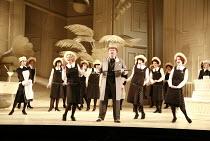 THE MIKADO   by Gilbert & Sullivan   conductor: David Parry   set design: Stefanos Lazaridis   costume design: Sue Blane   original director: Jonathan Miller <br>,front l-r: Fiona Canfield (Peep-Bo),...