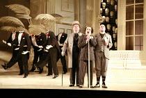 THE MIKADO   by Gilbert & Sullivan   conductor: David Parry   set design: Stefanos Lazaridis   costume design: Sue Blane   original director: Jonathan Miller <br>,with headless dancers, decapitated he...