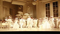 THE MIKADO   by Gilbert & Sullivan   conductor: David Parry   set design: Stefanos Lazaridis   costume design: Sue Blane   original director: Jonathan Miller <br>,front, l-r: Graeme Danby (Pooh-Bah),...
