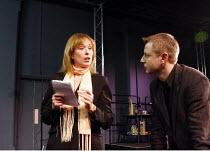 THE DEATH OF MARGARET THATCHER   by Tom Green   director: June Abbott <br>,Pamela Hall, Alan Freestone   ,The Courtyard Theatre, Hoxton, London N1                  06/02/2008            ,