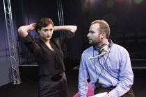 THE DEATH OF MARGARET THATCHER   by Tom Green   director: June Abbott <br>,Alex Topham Tyerman, Russell Anthony,The Courtyard Theatre, Hoxton, London N1                  06/02/2008            ,
