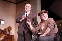 THE HOMECOMING   by Harold Pinter   design: Jonathan Fensom   lighting: Neil Austin   director: Michael Attenborough <br>,l-r: Anthony O^Donnell (Sam), Kenneth Cranham (Max)   ,Almeida Theatre, London...