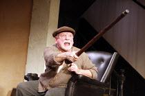 THE HOMECOMING   by Harold Pinter   design: Jonathan Fensom   lighting: Neil Austin   director: Michael Attenborough <br>,Kenneth Cranham (Max)   ,Almeida Theatre, London N1...