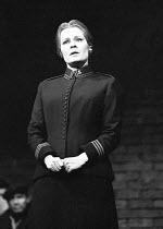 MAJOR BARBARA   by George Bernard Shaw   design: Ralph Koltai   director: Clifford Williams <br>,Judi Dench (Major Barbara)    ,Royal Shakespeare Company (RSC) / Aldwych Theatre, London WC2   19/10/19...