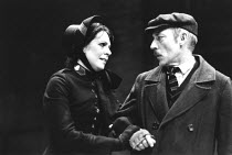MAJOR BARBARA   by George Bernard Shaw   design: Alison Chitty   director: Peter Gill <br>,Penelope Wilton (Major Barbara Undershaft), Ron Pember (Peter Shirley)    ,Lyttelton Theatre / National Theat...