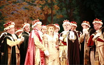 IOLANTHE   or  The Peer and the Peri   music: Arthur Sullivan   lyrics: W S Gilbert   conductor: Richard Balcombe   directed & designed by Peter Mulloy <br>,centre, l-r: Barry Clark (Earl Tolloller),...