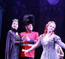IOLANTHE   or  The Peer and the Peri   music: Arthur Sullivan   lyrics: W S Gilbert   conductor: Richard Balcombe   directed & designed by Peter Mulloy <br>,l-r: Maria Ewing (Queen of the Fairies), Ga...