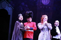 IOLANTHE   or  The Peer and the Peri   music: Arthur Sullivan   lyrics: W S Gilbert   conductor: Richard Balcombe   directed & designed by Peter Mulloy <br>,l-r from left: Maria Ewing (Queen of the Fa...