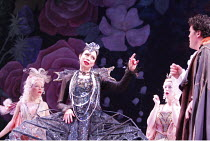 IOLANTHE   or  The Peer and the Peri   music: Arthur Sullivan   lyrics: W S Gilbert   conductor: Richard Balcombe   directed & designed by Peter Mulloy <br>,centre: Maria Ewing (Queen of the Fairies)...
