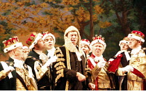 IOLANTHE   or  The Peer and the Peri   music: Arthur Sullivan   lyrics: W S Gilbert   ,conductor: Richard Balcombe   directed & designed by Peter Mulloy <br>,centre: Steven Page (The Lord Chancellor)...