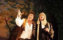 IOLANTHE   or  The Peer and the Peri   music: Arthur Sullivan   lyrics: W S Gilbert   ,conductor: Richard Balcombe   directed & designed by Peter Mulloy <br>,l-r: Karl Daymond (Strephon), Steven Page...