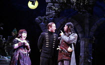 THE PIRATES OF PENZANCE or The Slave of Duty   music: Arthur Sullivan   lyrics: W S Gilbert   ,conductor: Richard Balcombe   directed & designed by Peter Mulloy <br>,l-r: Beverley Klein (Ruth), David...