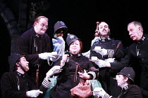 THE PIRATES OF PENZANCE or The Slave of Duty   music: Arthur Sullivan   lyrics: W S Gilbert   ,conductor: Richard Balcombe   directed & designed by Peter Mulloy <br>,centre: Jo Brand (Sergeant of Poli...