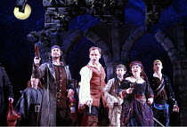 THE PIRATES OF PENZANCE or The Slave of Duty   music: Arthur Sullivan   lyrics: W S Gilbert   ,conductor: Richard Balcombe   directed & designed by Peter Mulloy <br>,front l-r: Steven Page (The Pirate...