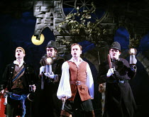 THE PIRATES OF PENZANCE or The Slave of Duty   music: Arthur Sullivan   lyrics: W S Gilbert   ,conductor: Richard Balcombe   directed & designed by Peter Mulloy <br>,centre: David Curry (Frederic),Car...