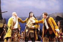 THE PIRATES OF PENZANCE or The Slave of Duty   music: Arthur Sullivan   lyrics: W S Gilbert   ,conductor: Richard Balcombe   directed & designed by Peter Mulloy <br>,l-r: Michael Kerry (Samuel), Steve...