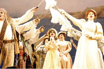 THE PIRATES OF PENZANCE or The Slave of Duty   music: Arthur Sullivan   lyrics: W S Gilbert   ,conductor: Richard Balcombe   directed & designed by Peter Mulloy <br>,centre: Deborah Myers (Mabel),Carl...