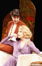THE VORTEX   by Noel Coward   design: Alison Chitty   director: Peter Hall <br>,l-r: Phoebe Nicholls (Helen Saville), Felicity Kendal (Florence Lancaster),Apollo Theatre, London W1    26/02/2008...