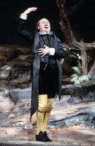 TWELFTH NIGHT   by Shakespeare   design: Robin Don   director: John Caird ~,Emrys James (Malvolio),Royal Shakespeare Company (RSC) / Royal Shakespeare Theatre     Stratford-upon-Avon   14/04/1983    ,