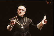 TWELFTH NIGHT   by Shakespeare   director: Peter Hall <br>,Eric Porter (Malvolio)   ,Playhouse Theatre, London WC2               28/02/1991,
