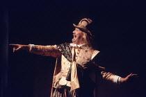 TWELFTH NIGHT   by Shakespeare   set design: John Gunter   costumes: Deirdre Clancy   director: Ian Judge <br>,Bille Brown (Sir Andrew Aguecheek),Royal Shakespeare Company / Royal Shakespeare Theatre...